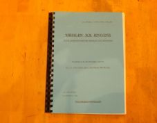 Merlin XX Engine.Schedule of spare parts.Plus XXI Engines